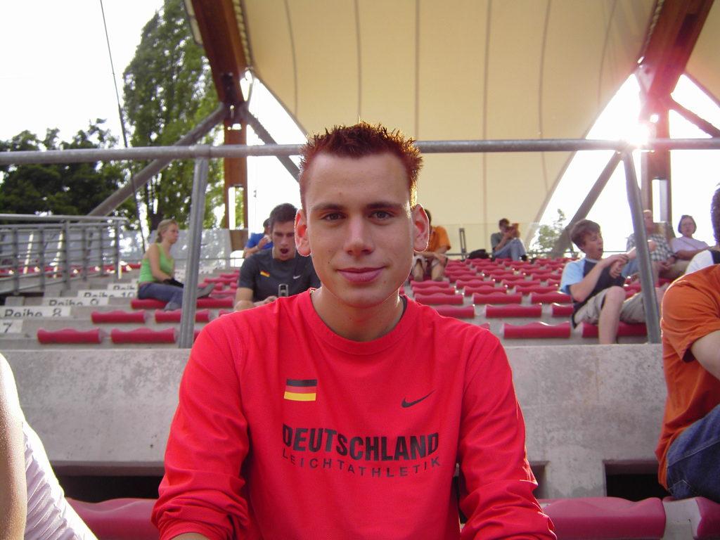 Simon bei der U23 EM in Erfurt über die 800m